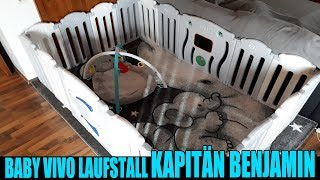 BABY VIVO LAUFSTALL KAPITÄN BENJAMIN + ZUSATZELEMENT [Vorstellung | dertestmichel]