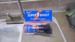 SUPCO - SUPER BOOST HARD START CAPACITOR Win Or Fail?