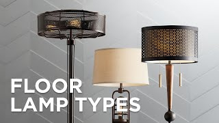 Floor Lamp Types