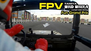 FPV truck TAMIYA WILD WILLY 2 - Fun Grand Prix