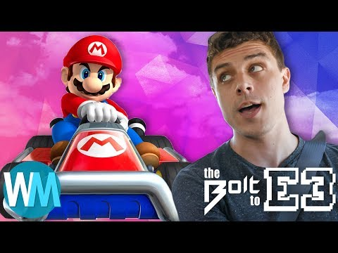 We play Mario Kart in DUNE BUGGIES! – The Bolt to E3 part 2