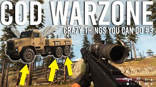 Crazy things you can do in Call of Duty Warzone #3
