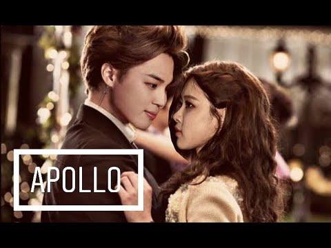 💜Jirose💜 Rose (blackpink) & Jimin (bts) • Apollo • [fmv]