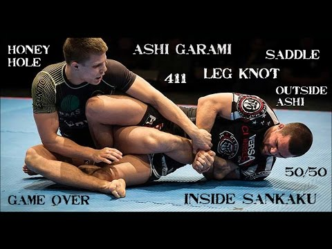 A Guide To The Main Leglock Positions: Ashi Garami, Saddle, Leg Knot, 50/50, Outside Ashi
