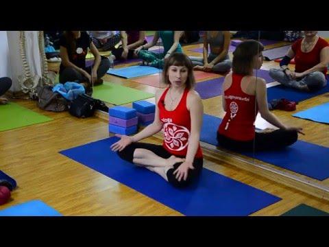 Евгения Пришута. Работа с тазобедренными суставами. 1 часть