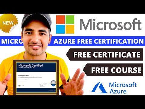 Free Microsoft Azure Certification Course | Microsoft Free Online Courses | Microsoft Training