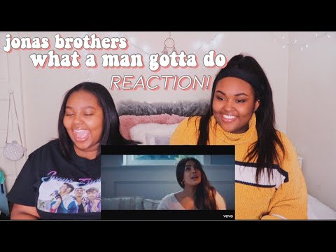 Jonas Brothers - What a Man Gotta Do | REACTION