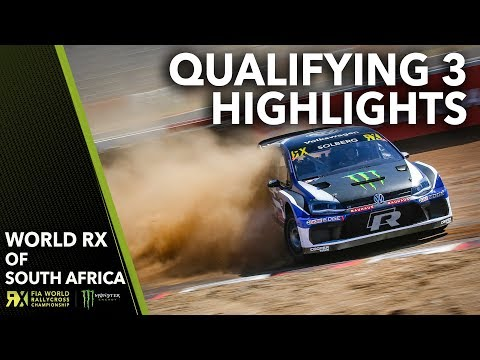 Qualifying 3 Highlights | 2018 Gumtree World Rallycross of South Africa