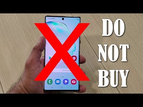 DO NOT BUY the Galaxy Note 10