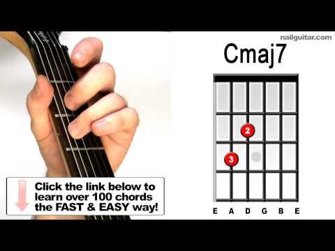 Cmaj7 - Guitar Chords