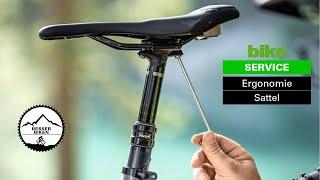 Sattel am Mountainbike: passenden Sattel finden und richtig einstellen