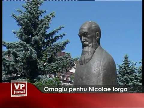 Omagiu pentru Nicolae Iorga