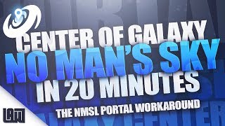 Center of Galaxy in 20 MINUTES or less! - Creative Mode Portal Workaround - NMSLove PS4