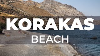 Film from Korakas beach