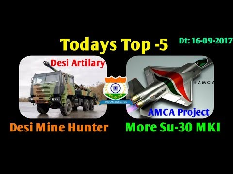 Latest News Headlines TOP FIVE 16-09-2017 by Indian defense news HAL to build More Su-30  and AMCA