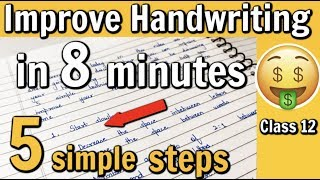 How to Improve Handwriting under 8 minutes | 5 simple tips