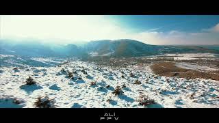 Dji Fpv HD System Long Range Winter Video #djifpv #fpv