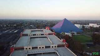 Aerial Footage of the Walter Pyramid at CSULB (VIDEO)