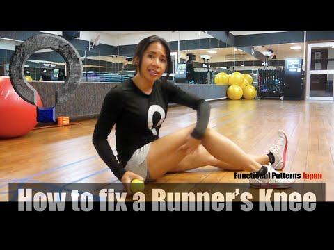 Video How to Fix a Runner's Knee (IT Band Release)