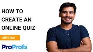 How to Create an Online Quiz in Under 5 Mins