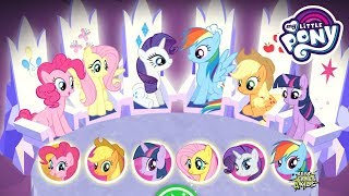 My Little Pony: Harmony Quest #248 • TEAM ALL 6 PONIES! By Budge