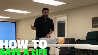 How To Save Someone's Life Who is Unresponsive and Breathing!