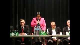 Spotkanie przedwyborcze w Dukli  - Aneta Baran