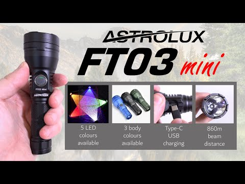 ASTROLUX FT03 mini REVIEW - OSRAM NM1