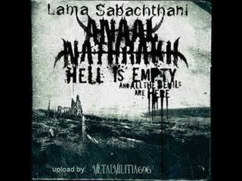 anaal nathrakh - Lama Sabachthani online metal music video by ANAAL NATHRAKH