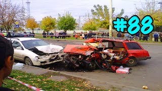 CAR CRASHES IN AMERICA. BAD DRIVERS USA AND CANADA | Crazy Drivers Car Crashes #88