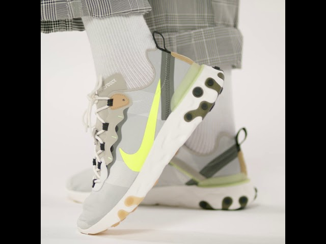 Vidéo : REACT ELEMENT 55 UNITE TOTALE