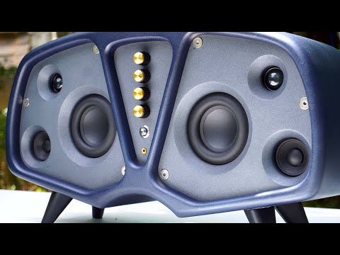 DIY Projector Bluetooth Speaker