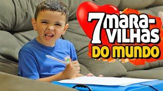 7 MARAVILHAS DO MUNDO - MENSAGEM PARA VOCÊ