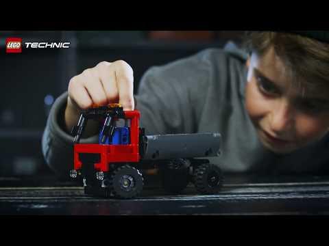 Vidéo LEGO Technic 42084 : Le camion à crochet
