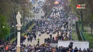 preview picture of video 'Częstochowa - Jasna Góra 2014 - XI Motocyklowy Zlot Gwiaździsty'