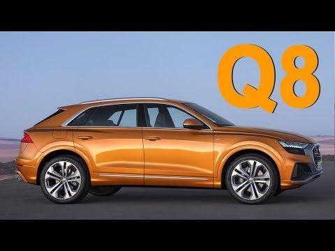 Audi  Q8 Кроссовер класса J - тест-драйв 5