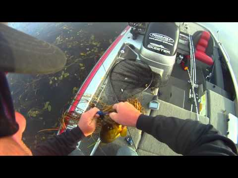 Heavy Cover Mat Fishing For Big Bass