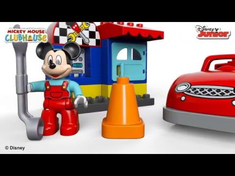 Vidéo LEGO Duplo 10829 : L'atelier de Mickey