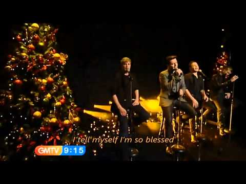 Westlife - I'll See You Again with Lyrics (TV Live)