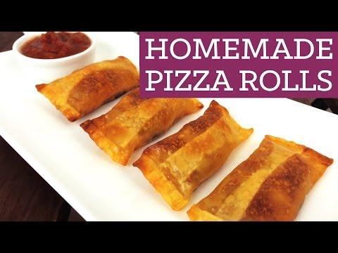 Homemade Pizza Rolls - Mind Over Munch Episode 14
