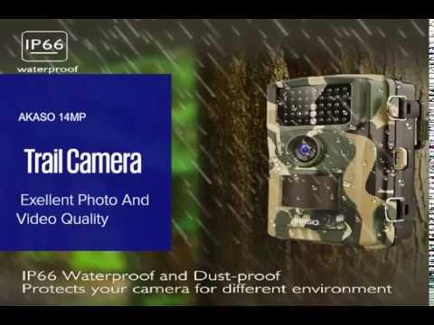 AKASO 14MP Trail Camera Night Vision