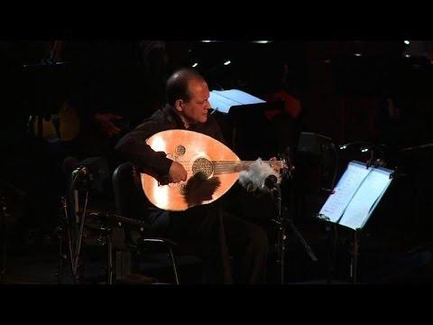 Tunisie: Anouar Brahem fait l'ouverture du festival de Carthage (видео)