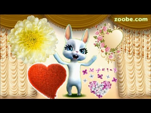 Zoobe Зайка Мама, С днем рождения тебя!