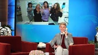 Ellen Surprises a Viewer Live at Work!