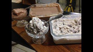 מתכון לגלידה על בסיס שמנת עם שוקולד ואוראו
