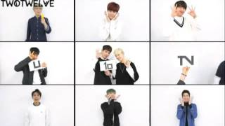 [ENGSUB] UP10TION U10TV ep 40 - Stick to Gathering of MusicCore UP10TION Attention