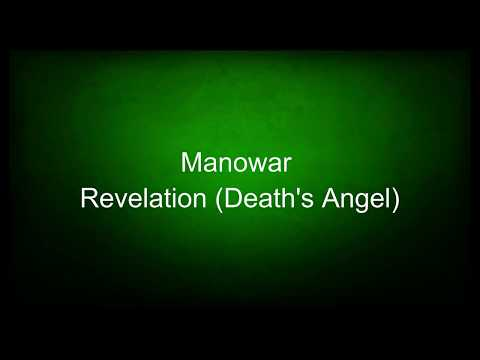 Manowar - Revelation (Death's Angel) (lyrics)