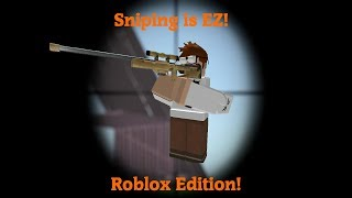 Sniping is EZ... Fortnite Roblox Edition(Strucid) #PuR3Submission