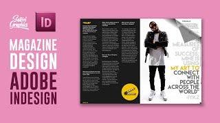 MAGAZINE LAYOUT IN ADOBE INDESIGN TUTORIAL - PHOTOSHOP & INDESIGN - Adobe InDesign Tutorial