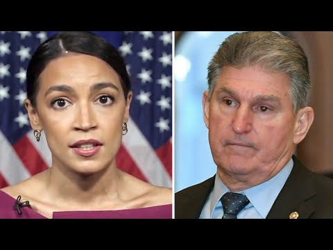 AOC RESPONDS To Joe Manchin After He Calls Her Out!